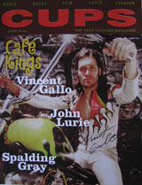 Cups Magazine (USA, No 90, 1998, signed by Vincent Gallo)
