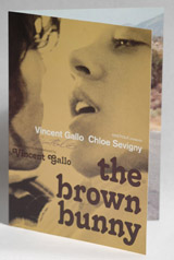 The Brown Bunny Cannes Press Kit/Brochure Autographed By Vincent Gallo