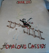 Vincent Gallo's Childhood Hopalong Cassidy Bedspread