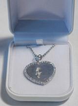 Vincent Gallo Limited Edition Jew'ls: Diamond Heart Pendant