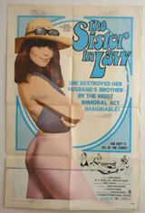 The Sister In Law Vintage Film Poster