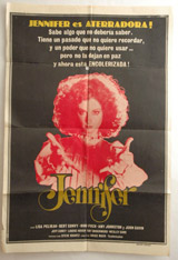 Jennifer Vintage Film Poster