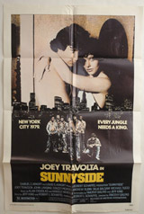 Sunnyside Vintage Film Poster