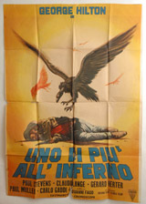 Uno Di Piu' All' Inferno Vintage Film Poster