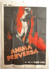 Anima Perversa Vintage Film Poster