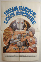 Invasion of the Love Drones Vintage Film Poster