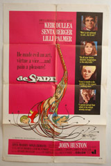 De Sade Vintage Film Poster