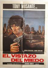 El Vistatazo Del Miedo Vintage Film Poster