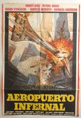 Aeropuerto Infernal (Death Flight) Vintage Film Poster