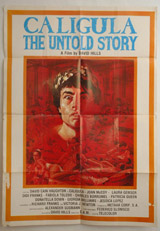 Caligula The Untold Story Vintage Film Poster