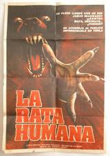 La Rata Humana Vintage Film Poster