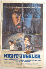Night Of The Juggler Vintage Film Poster
