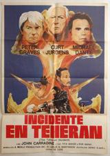 Incidente En Tehran (The Tehran Incident) Vintage Film Poster