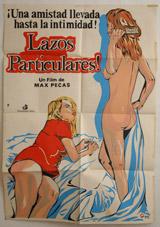 Lazos Particulares (Claude et Greta) Vintage Film Poster