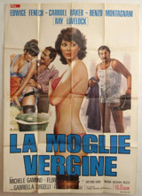 La Moglie Vergine Vintage Film Poster
