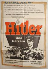 Hitler Una Carrera Vintage Film Poster