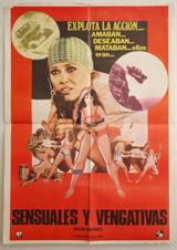 Sensuales Y Vengativas (Sugar Cookies) Vintage Film Poster