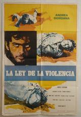 La Ley De La Violencia (El Desperado) Vintage Film Poster