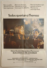 Buscando Mr. Goodbar (Looking For Mr. Goodbar) Vintage Film Poster