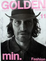 Golden Magazine (Japan, March 2007, Special Fashion Edition 11, signed by Vincent Gallo)