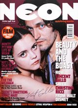 Neon Magazine (UK, October 1998, signed by Vincent Gallo)