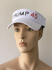 """Everybody, Let's Celebrate Our Greatest President DONALD J. TRUMP""  Vincent Gallo. 2020, hand made hat"