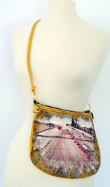 Yellow Purse - One of a kind by Vincent Gallo