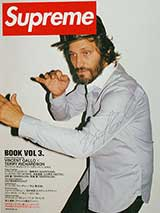 Supreme Magazine (Book vol. 3, signed by Vincent Gallo)